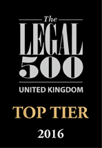 Duncan Lewis, Main Solicitors, Duncan Lewis achieves excellent nationwide Legal 500 recognition with 2 Top Tier and 10 legal practice areas across the UK ranked