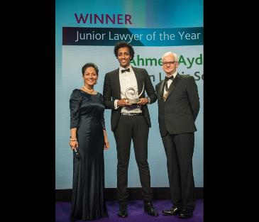 Duncan Lewis, Main Solicitors, Duncan Lewis Enjoys Success at Law Society Excellence Awards 2017 as Ahmed Aydeed Shines