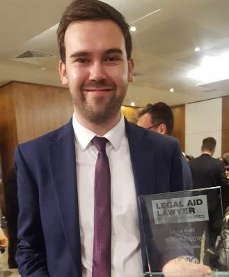 Duncan Lewis, Main Solicitors, Public Law Solicitor Lewis Kett Wins Legal Aid Newcomer at the Legal Aid Lawyer of the Year Awards 2018