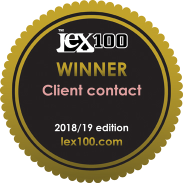 Duncan Lewis, Main Solicitors, Lex 100 survey results are in: Duncan Lewis wins for client contact for second year in a row