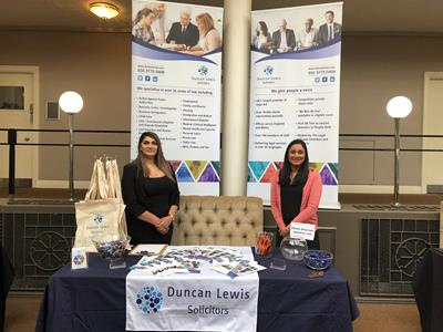 Duncan Lewis, Main Solicitors, Solicitors Nilma Shah and Sarah Rashid represented Duncan Lewis at the TUC Midlands Annual Conference