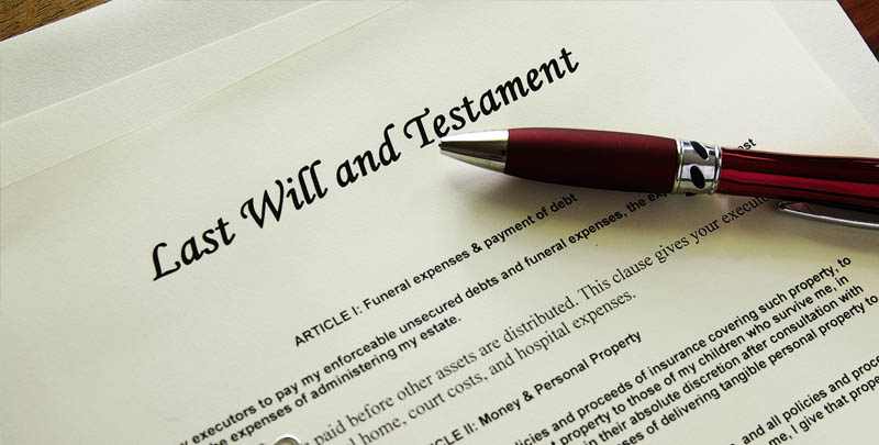 Protecting your Will